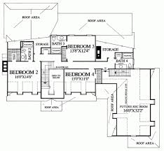 colonial style house plan 4 beds 4 00 baths 3493 sq ft plan 137 134