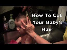 18 month girl haircut how to cut your baby s hair highly requested youtube