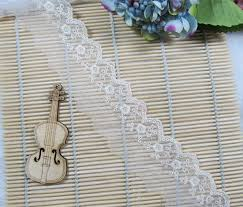 lace ribbon wholesale aliexpress buy 90 yards 8 cm white lace