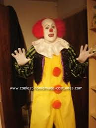 Clown Halloween Costume Coolest Pennywise Clown Costume Costumes Halloween Costumes