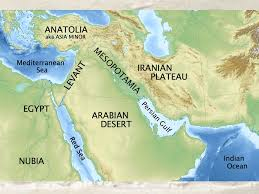 middle east map water bodies quaestio what do the various strong rulers of the ancient near
