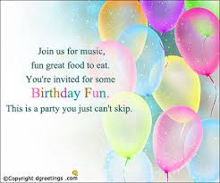 how to write a birthday invitation how to write a birthday