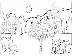 free coloring page of the rainforest coloring pages forest forest coloring pages forest coloring page