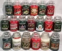 yankee candle 22oz large jar retired winter scents