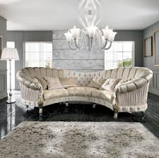 Curved Sofa Designs Italian Designer Six Seater Curved Sofa Juliettes Interiors