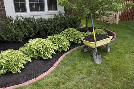 easy flower bed borders