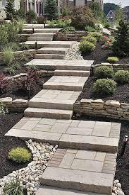 image result for outdoor steps landscaping pinterest cinder