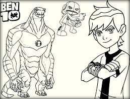 ben 10 coloring pages color zini