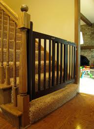 Evenflo Stair Gate by Wood Baby Gate For Stairs With Banister Best Baby Gates For