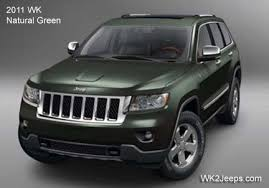 green jeep grand cherokee jeep grand cherokee wk2 2011 2016 grand cherokee exterior design