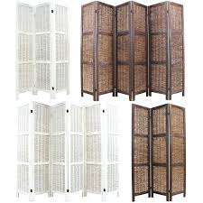 Privacy Screen Room Divider by Room Divider Art Wooden Framed Wicker Privacy Screen Partition