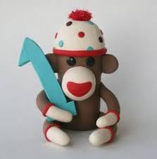 sock monkey birthday cake baby u0026 kiddo birthday cakes