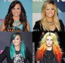 demi lovato hair extensions demi lovato s changing locks carpet fashion awards