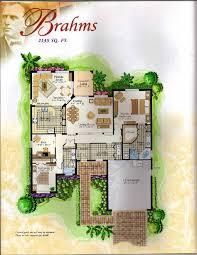 Solivita Floor Plans The Classical Collection Brahms Floor Plan In Solivita Kissimmee