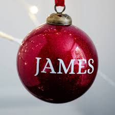 personalised baubles handmade co