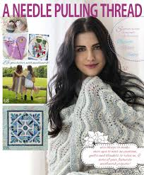 a needle pulling thread summer 2014 sampler by anptmag issuu