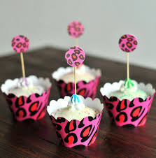 leopard print party supplies cheap pink birthday decorations image inspiration of cake and