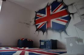 chambre en anglais deco chambre theme anglais voyage sponsorisé