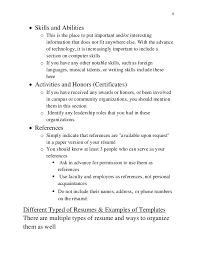 not to include in resume resume guide