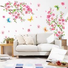 us removable blossom flower butterfly vinyl art decal wall home us removable blossom flower butterfly vinyl art decal wall home sticker decor