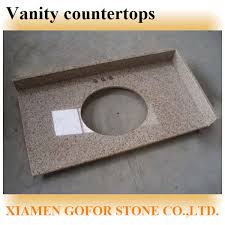 One Piece Bathroom Vanity Tops by Popular Granite Lowes Bathroom Countertops One Piece Bathroom Sink