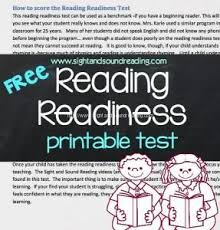 ready to read free reading readiness test and reading program