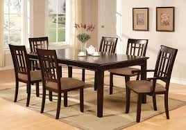 amazon com furniture of america madison 7 piece dining table set