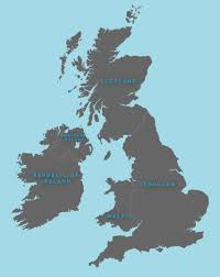 Blank Map Of Western Europe by Outline Map Of Britain Royalty Free Editable Vector Map Maproom
