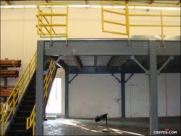 Warehouse Storage Mezzanine Gates And Hand Rails