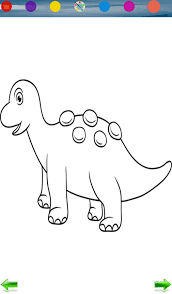 dinosaurs coloring game android apps google play