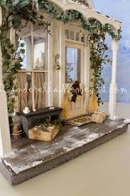 Shabby Chic Dollhouse by Cinderella Moments Blythe Shabby Chic Dollhouse Custom