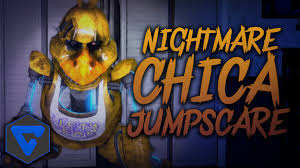 five nights at freddy s halloween horror nights nightmare chica jumpscare animation five nights at freddy u0027s 4