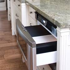 kitchen island with microwave drawer chicago kitchen design ideas pros and cons of a microwave drawer