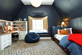 contemporary kids bedroom with bean bag by houlihan lawrence