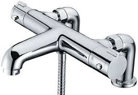 Bathroom Shower Mixer Libra Deck Mounted Thermostatic Bath Shower Mixer Tap