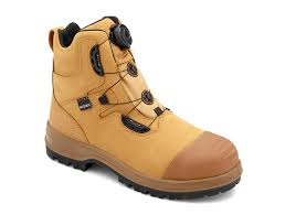 buy boots products australia s or s black leather ankle high steel toe cap work and