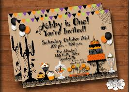 halloween invitation halloween birthday invitation halloween