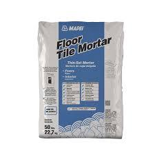 shop mapei floor tile 50 lb white powder thinset mortar at lowes com
