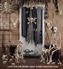 crazy bonez skeleton cat halloween decoration ebay