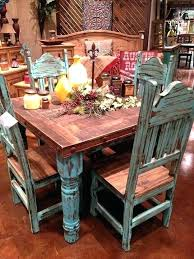 wood rectangular dining table small round rustic dining table round rustic kitchen table or full