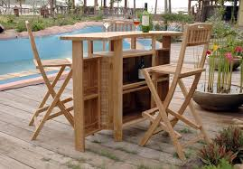 Garden Bar Table And Stools Outdoor Bar Table Sets U2014 Jbeedesigns Outdoor How To Make An