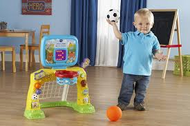 Little Tikes Football Toy Box Amazon Com Vtech Smart Shots Sports Center Frustration Free