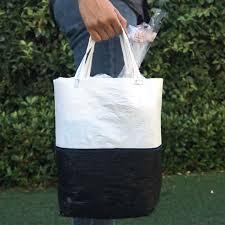 turn plastic sacks into a recycled tote craft diys and life hacks