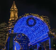 christmas tree lighting boston 2017 holiday trellis lighting draws thousands to columbus park on