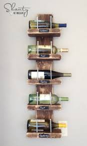 Wine Kitchen Decor by Decorating Shanty 2 Chic Wine Rack 4 Using Pallet Wine Rack For