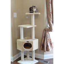 Cat Scratcher Tower Trixie Palamos 42 75 In Cat Tree Hayneedle