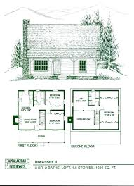 home floor plans loft log cabin small kits planslog with and