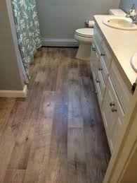 Laminate Flooring In Kitchen by Natural Timber Cinnamon Used Mapei Chocolate Unsanded Grout For 1