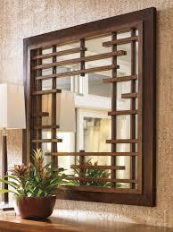 island fusion mikasa square mirror lexington home brands
