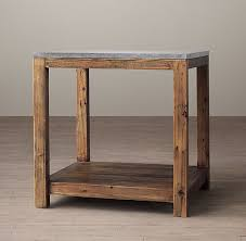 Parsons Nightstand Bluestone Parsons Side Table 595 Could Be A Good Night Table